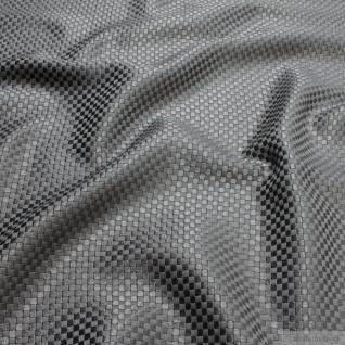 Stoff Viskose Baumwolle Panama grau Polsterstoff 40.000 Martindale