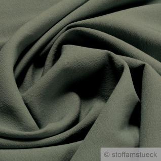 Stoff Viskose Polyester Leinwand hellpetrol fein leicht