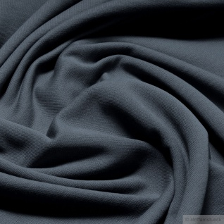 0, 5 Meter Stoff Baumwolle Single Jersey angeraut grau Sweatshirt weich dehnbar