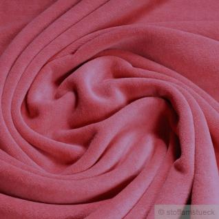 Stoff Baumwolle Nicki erdbeere kbA GOTS weich C.PAULI rapture rose nicky rosa