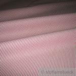 Stoff Baumwolle Zündholzstreifen rot weiß weiss 1, 5 mm Streifen schmal