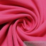 0, 5 Meter Baumwolle Lycra Bündchen pink kbA GOTS 80 cm breit C. PAULI