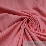 Stoff Baumwolle Hairline-Streifen rot weiß 1 mm Streifen Nadelstreifen