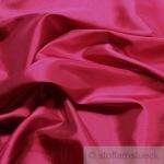 10 Meter Stoff Polyester Kleidertaft fuchsia Taft dezenter Glanz pink