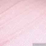 Stoff Baumwolle Acryl Ornament weiß rosa beschichtet wasserabweisend