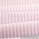 Stoff Baumwolle Bauernstreifen lila weiß 1 cm Streifen