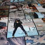 Stoff PVC Nappa Modemagazin Modejournal Titelbild Titelblatt Kunstleder