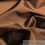 10 Meter Stoff Polyester Kleidertaft bronze Taft dezenter Glanz