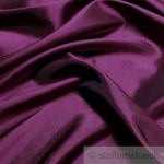 10 Meter Stoff Polyester Kleidertaft violett Taft dezenter Glanz lila
