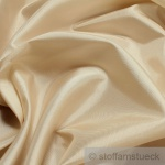 10 Meter Stoff Polyester Kleidertaft creme Taft dezenter Glanz champagner