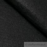 Stoff Polyester Filz schwarz 3 mm dick Bastelfilz 100 cm breit waschbar