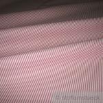 Stoff Baumwolle Zündholzstreifen rot weiß 1, 5 mm Swafing Caravelle