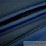 10 Meter Stoff Baumwolle Polyester EOL Köper dunkelblau Lycra marine dehnbar