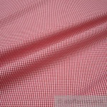 Stoff Baumwolle Vichy Karo klein rot weiß 1, 5 mm Swafing Canstein