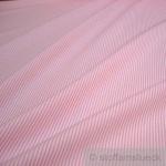 Stoff Baumwolle Zündholzstreifen rosa weiß 1, 5 mm Swafing Caravelle