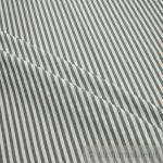 Stoff Baumwolle Bauernstreifen dunkelgrün weiß 1 cm Streifen