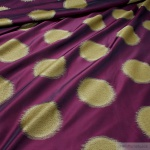 Stoff Trevira® CS Taft bordeaux Kreis überbreit 333 cm breit blickdicht