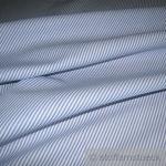 Stoff Baumwolle Zündholzstreifen blau weiß 1, 5 mm Swafing Caravelle