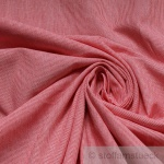 Stoff Baumwolle Hairline - Streifen rot weiß 1 mm Streifen Nadelstreifen