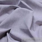 Stoff Baumwolle Hairline - Streifen dunkelblau weiß 1 mm Streifen Nadelstreifen