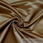 Stoff Trevira® CS Satin bronze nicht brennbar B1 blickdicht