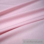 Stoff Baumwolle Vichy Karo klein rosa weiß 1, 5 mm Swafing Canstein