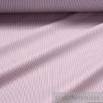 Stoff Baumwolle Zündholzstreifen flieder weiß weiss 1, 5 mm Streifen schmal