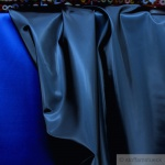 Stoff Lackleder blau glänzend elastisch Polsterstoff 50.000 Martindale