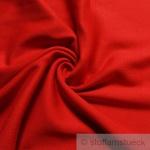 0, 5 Meter Baumwolle Lycra Bündchen rot kbA GOTS 88 cm breit C.PAULI