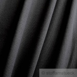 0, 5 Meter Baumwolle Lycra Bündchen schwarz kbA GOTS 85 cm breit C.PAULI