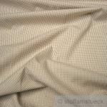 Stoff Baumwolle Vichy Karo klein beige weiß 1, 5 mm Swafing Canstein