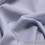 Stoff Baumwolle Hairline - Streifen hellblau weiß 1 mm Streifen Nadelstreifen