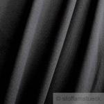 0, 5 Meter Baumwolle Elastan Bündchen schwarz kbA GOTS 85 cm breit C.PAULI