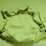 0, 5 Meter Baumwolle Lycra Bündchen kiwi kbA GOTS 79 cm breit C.PAULI