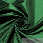 10 Meter Stoff Polyester Kleidertaft grün Taft dezenter Glanz