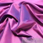 10 Meter Stoff Polyester Kleidertaft lila Taft dezenter Glanz
