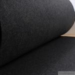 Stoff Polyester Filz dunkelgrau meliert stabil 4 mm dick Bastelfilz 100 cm breit grau