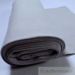 0, 5 Meter Baumwolle Lycra Bündchen hellgrau kbA GOTS 80 cm breit C.PAULI