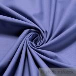 10 Meter Stoff Baumwolle Leinwand mittelblau blau Baumwollstoff