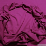 0, 5 Meter Baumwolle Elastan Bündchen himbeer kbA GOTS 73 cm breit C.PAULI