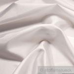 10 Meter Stoff Polyester Kleidertaft weiß Taft dezenter Glanz