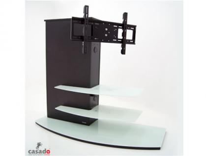 """""""Almeria"""" LCD TV Hifi Standkonsole Standfuß Rack Tisch Trägersystem 4 Farben - Vorschau 2"""