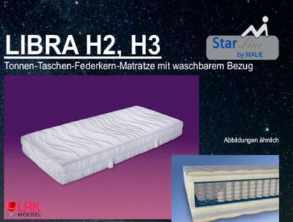 """Malie Tonnen-Taschen-Federkern-Matratze """"Libra"""" H2, H3 - Vorschau 1"""