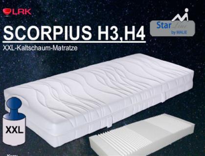 """Malie XXL-Kaltschaum-Matratze """"Scorpius"""" H3, H4,H5"""