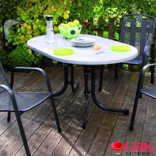 Acamp Gartentisch Tisch Gartenmöbel Möbel Garten Klappbar Oval 146x94 cm Neu