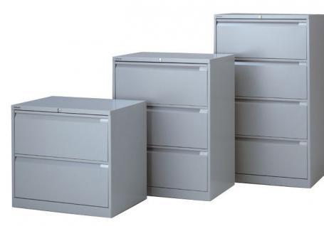 Bisley Doppelbahnig Hängeregistraturschrank Schrank Akten Büro Möbel in 5 Farben - Vorschau 2