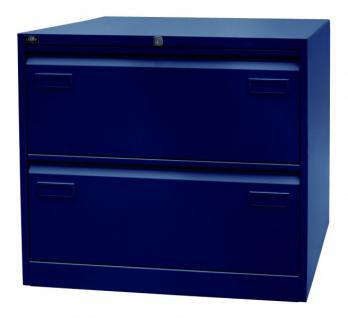 Hängeregistraturschrank Bisley Light Doppelbahnig Schrank Büro Möbel 4 Farben - Vorschau 4