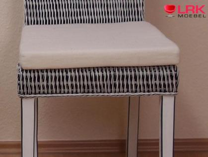 8350 Sitzkissen 2er-Set, Stuhlkissen, Kissen, Auflage, Sitzpolster Waschbar - Vorschau 2