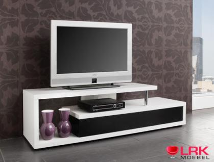 tt06 twist tv tisch tv regal fernsehtisch hifi m bel tv rack in hochglanz kaufen bei lrk. Black Bedroom Furniture Sets. Home Design Ideas