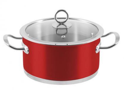 """6-tlg. Kochtopf-Set """"Rossa"""" Kochtöpfe Topf Essen Kochen Küche Set Neu Qualität - Vorschau 2"""